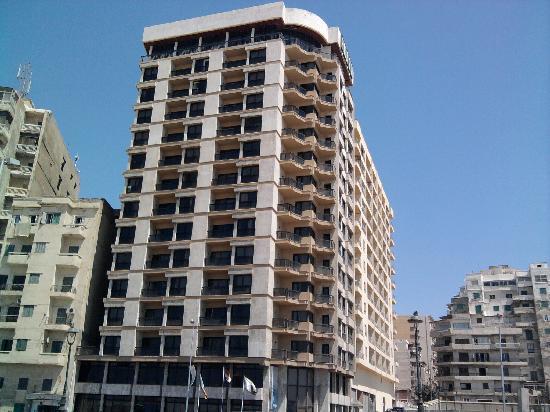 Plaza Hotel view from corniche