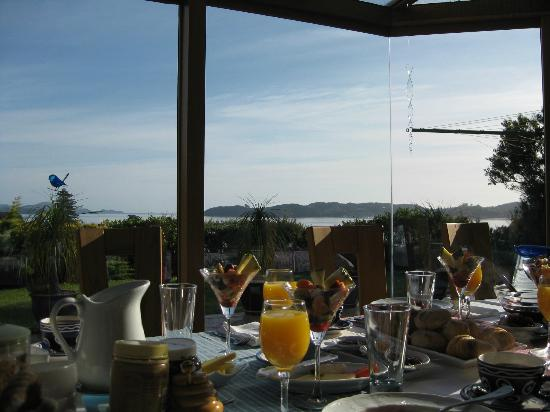 Chalet Romantica: View from the breakfast table