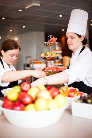Clarion Hotel Stavanger: Chefs preparing lunch
