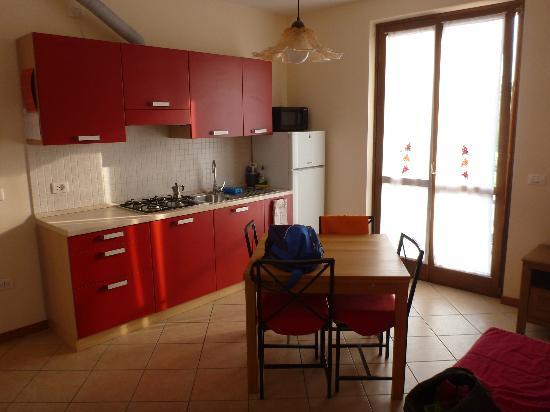Villa Abelia: la cucina