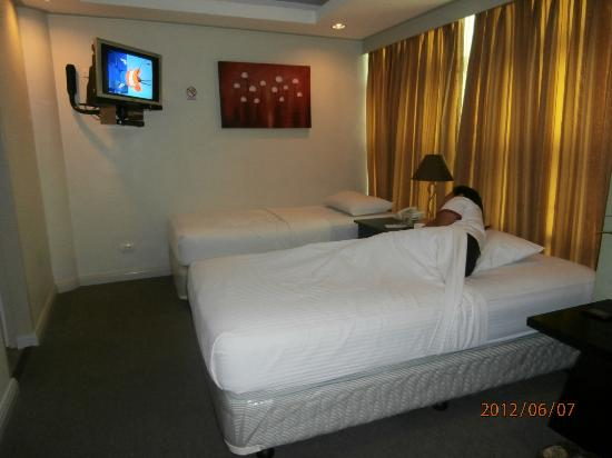 Best Suites Hotel Cebu: comfy beds