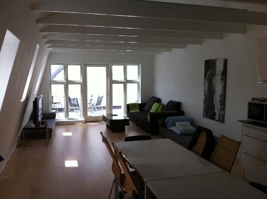 CPH Apartment : Interior of apartment - very spacious