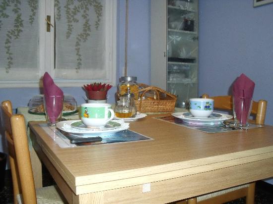 Il Riposo del Guerriero : sala colazione