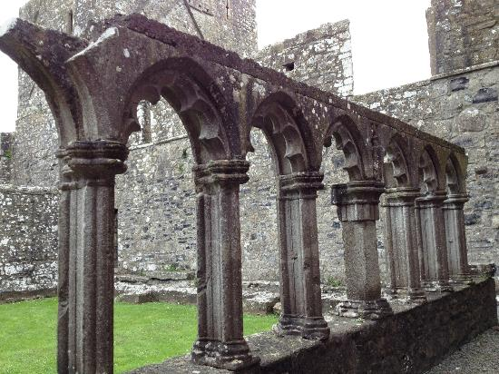 Arcade Cloisters Fore Abbey