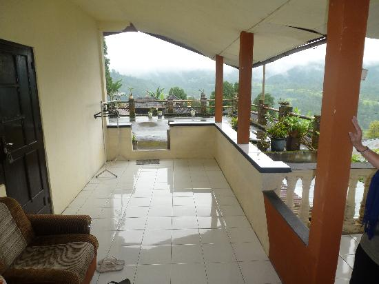 One Homestay: our lovely terrasse