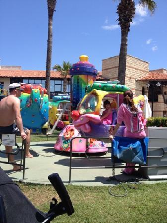 Paloma Grida Resort & Spa: kids ride