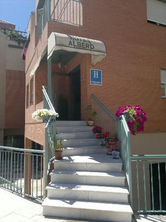 Albero: Entrada al Hotel