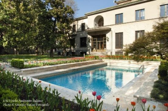 La veranda giardino invernale foto di villa necchi for Giardino invernale