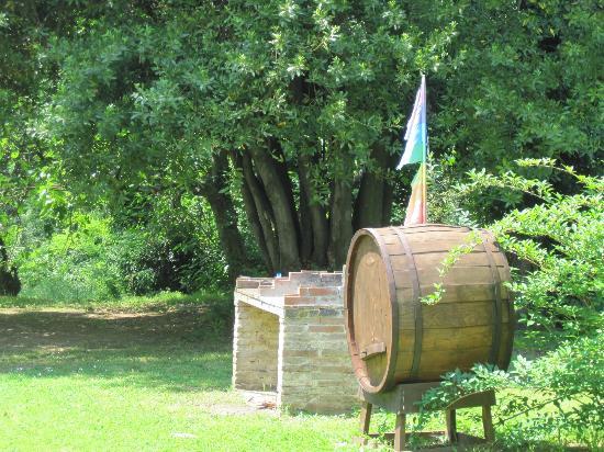 Agriturismo Bethsaid: Grillstelle