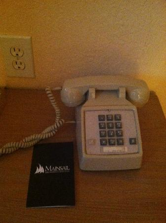 Mainsail Tampa Extended Stay: Phone in room