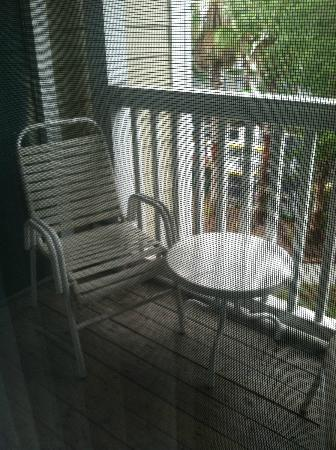 Mainsail Tampa Extended Stay: Our Balcony