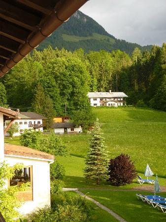 Alm- & Wellnesshotel Alpenhof : View from our window