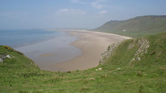 Rhossili Bay: Wonderful scenery