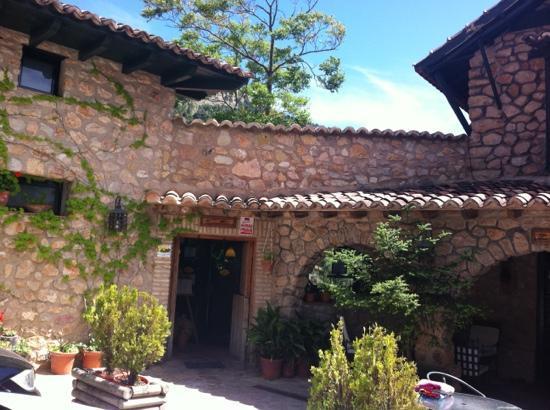 Casa Rural La Calerilla: la entrada
