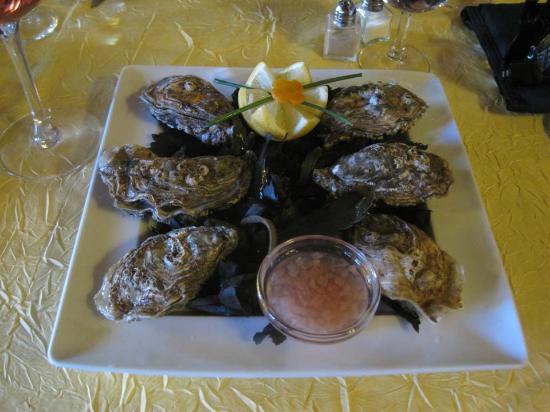 La Flambee: Six Fresh and Juicy Normandy Oysters