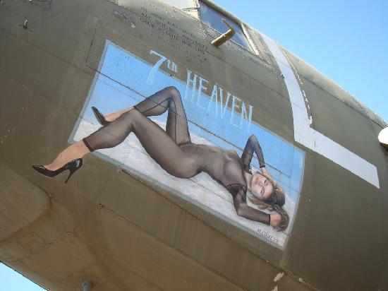 Castle Air Museum: DC-3 Nose Art