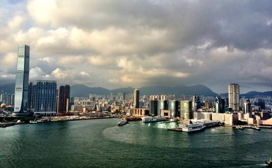 Four Seasons Hotel Hong Kong: view from room