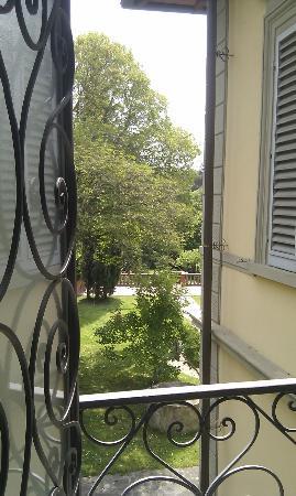 Casa di Mina: garden view from room