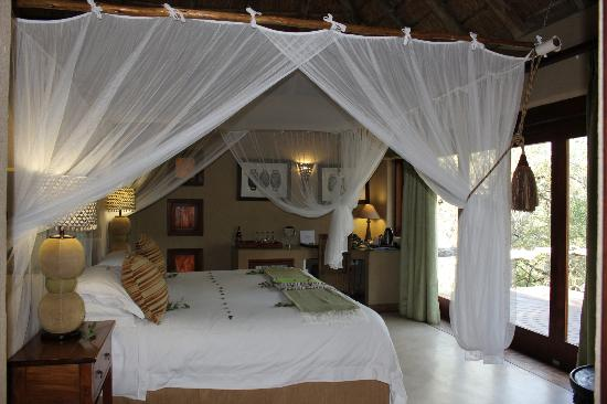 Simbambili Game Lodge: beautiful romantic retreat
