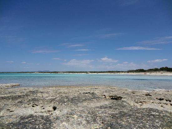 Playa de Es Trenc: attrezzatevi con ombrelloni perchè il sole picchia!