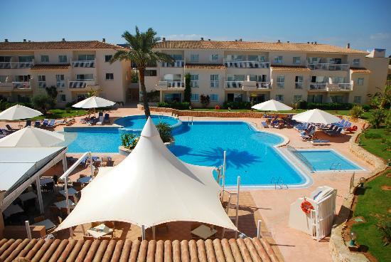 Aparthotel & Hotel Isla de Cabrera: Ausblick aus Zimmer 258