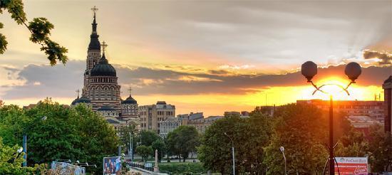 Free Tour Kharkov: Beautiful sunset in Kharkov
