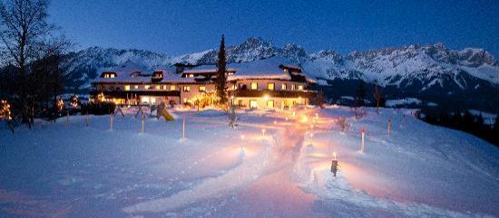Hotel Kaiserhof im Winter