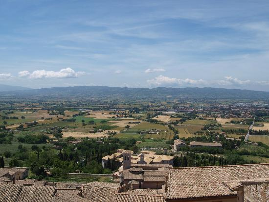 San Francesco: View from roof terrace