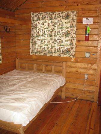 Bare Bones Cabin Full Bed Picture Of Frontier Town Ocean