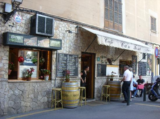 Cafe Ca'n Toni: Esterno