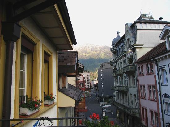 Minotel Toscana: view from balcony