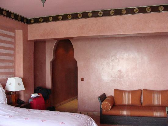 Riad Mimouna : entrée/chambre