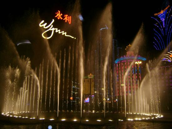 ‪‪Wynn Performing Lake‬: Performance Lake at Wynn Macau‬
