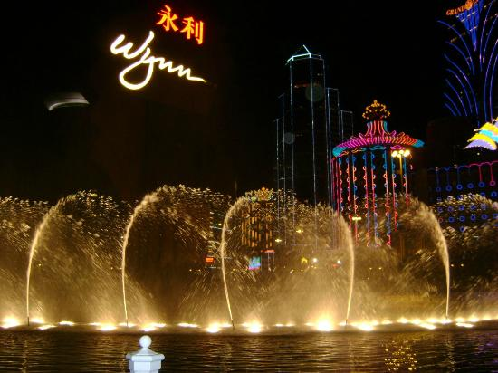 Wynn Performing Lake: Performance Lake at Wynn Macau