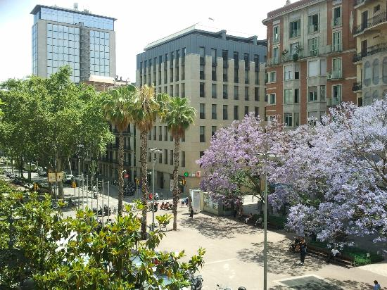 H Cristina Hotel: Vista desde la habitación.