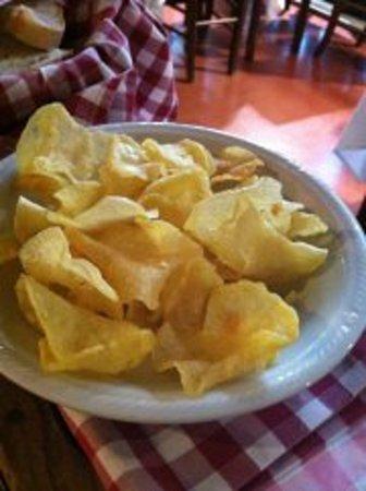 Patate fritte a sfoglia