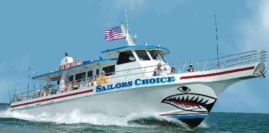 ‪Sailors Choice Party Fishing Boat‬