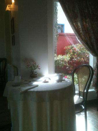 Hostal de La Rabida: The dining room