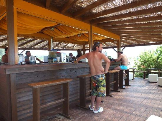 Halikounas Beach: Tayo Beach Bar
