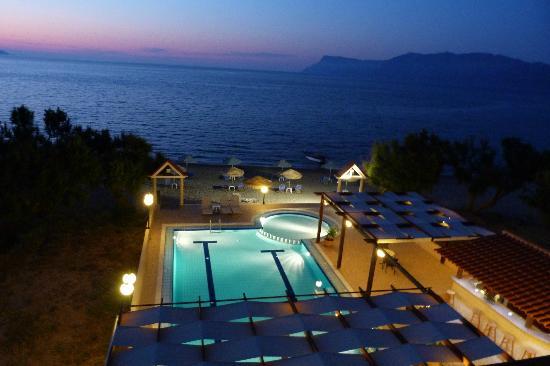 Mesogios Beach: Vue de la chambre