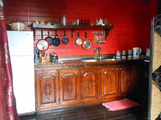 Crystals St Lucia: Kitchen in Calabash