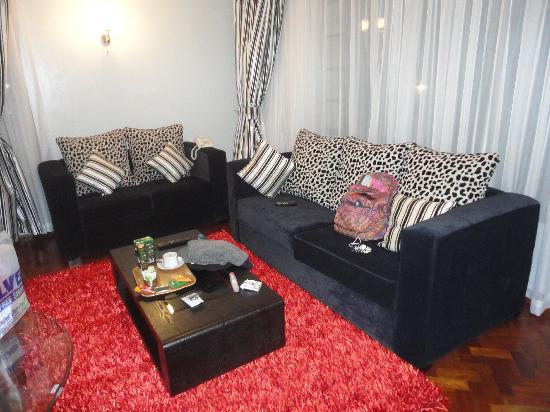 Meltonia Luxury Suites : Living room