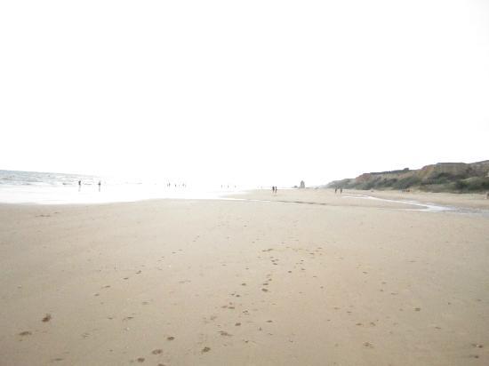 Mazagón, España: Playa del Camping Doñana
