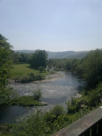 White Waters Country Hotel: View from the decking
