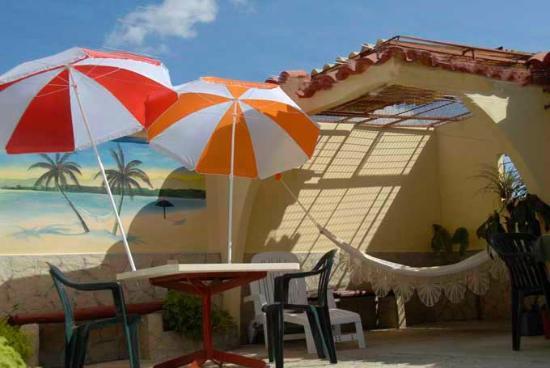 Villa La Roca: Dachterrasse