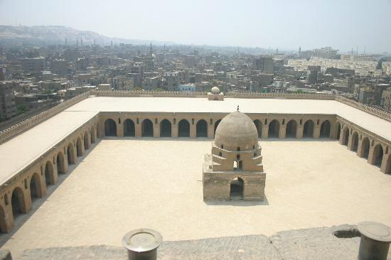Mosque of Ibn Tulun: Courtyard