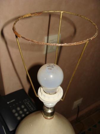 Villa Dar Mya Palmiers : lampe