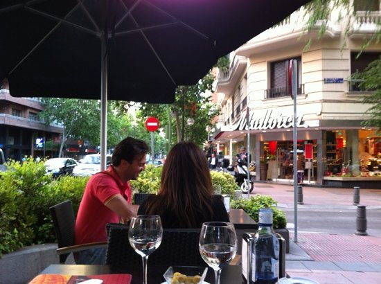 Il Salotto : outside seating