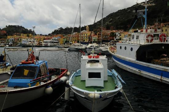 Giglio Island: Giglio Porto