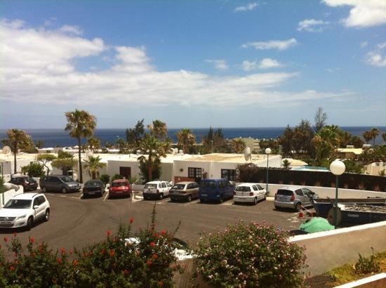 Las Vistas: View from Room 244 10/06/2012